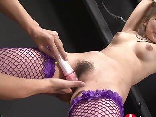 Japanese bondage porn movie with hot MILF
