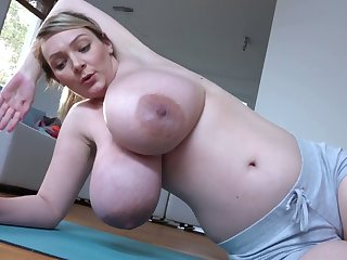 This babe has enormous and I appetite she could still give milk