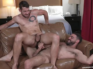 Bareback intense anal be useful to two gay lovers