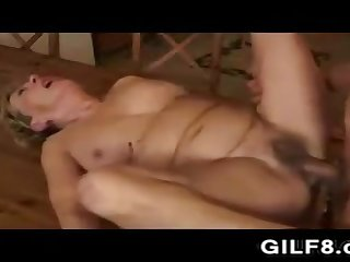 Having Intercourse Grandma In The Kitchen