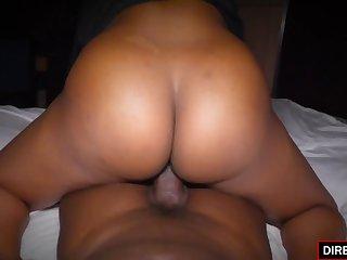 ebony amateur babe Maya Smith sex video