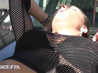 Coldness France A Poil - Hot Brunette Babe Gets Slippery Fuck