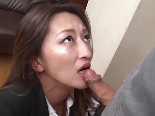 Fukiishi Rena A Prank Near The Beautiful Milf Office Lady