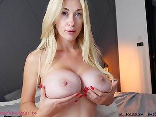 Big tits blonde Webcam make believe