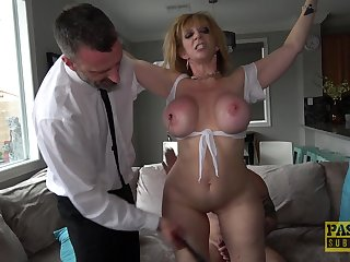 Naughty Sara Pillock is more than happy to please a man and be submissive