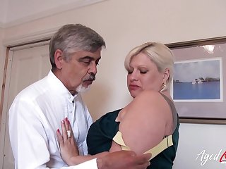 AgedLovE Grown up With Big Tits Got Rough Mad about