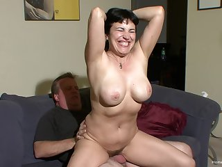 Horny couple Claudine and James are ready far go and cant wait far fuck!