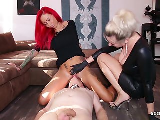German Domina Let Waiting upon Lick Shake out Teen Pussy To Org