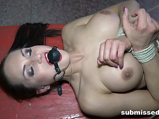 Take charge slave girl Barbara compelled up and tortured by a pervert
