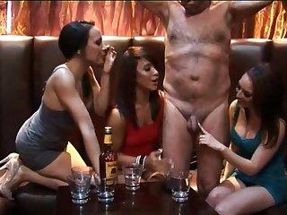 Amateur CFNM video regarding slutty pornstar Jessica Pressley and her friends